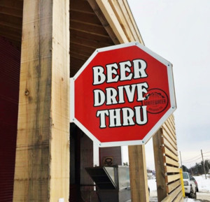 Drive through beer